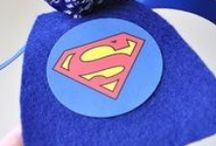 Super Hero Party / Possible 6th birthday theme / by Saving Toward A Better Life