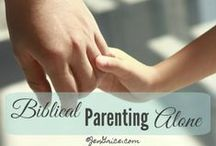 Biblical Parenting / Blog posts to help educate parents on what the Bible says about parenting. / by Jen Grice~Fully His