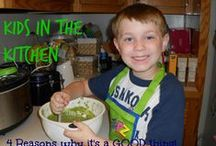 Cooking with kids / Getting #kids in the #kitchen.