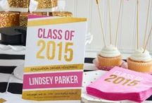 Cheers to the Class of 2015! / Fun ideas for a graduation party, as well as great gift ideas for the happy graduate!  / by Swoozie's