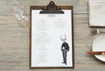 menu design