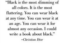Black is Black / by ƈąཞɛყ