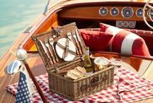 Welcome Aboard / A nautically themed lifestyle board filled with red, white, and blue!  / by Swoozie's