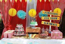 Girls Fifth Birthday - Carnival