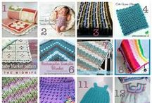Crochet Baby Layette Set / Crochet patterns, tips, tutorials, and ideas for baby gifts for a layette set including hats, booties, blankets, burp cloths and wash cloths, softies, and other crochet projects for newborns and infants. / by Underground Crafter