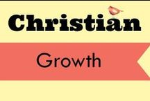 Christian growth / Sound, Biblical encouragement for moms.  By fellow bloggers committed to upholding the Word of Truth.  Because let's face it - a girl needs a little boost now and then!