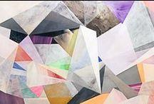 ENCAIXE GEOMÉTRICO / estética da colagem; geometrismos; sobreposições; camadas de recortes