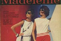 Vintage magazines / From glamour to housekeeping -  oude tijdschriften