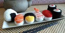 Dinette au crochet / des idées pour crocheter une dinette au crochet / crochet playfood ideas