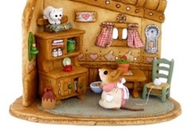 WFF Mouse Miniatures / Miniature mice handcrafted in Massachusetts!
