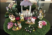 WFF in Display Scenes / Collectors have photographed their Wee Forest Folk mice in wonderfully creative ways!