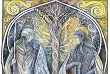 Ú-bedin edhellen - I don't speak Elvish / Elves and elvish stuff
