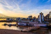 Cincinnati / Cincinnati, Ohio is my hometown!  I'm proud of my mid western heritage.