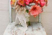 Spring wedding styling
