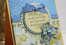 SCRAPBOOKING: ALL OCCASION CARDS / Homemade cards using your scrapbooking supplies / by Tami Mitchell