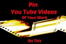 Videos~~Your YouTube Board / Group Board to share videos of our work.  Pin your own personal YouTube video of your art, jewelry, cooking, decorations, and similar.  Need an invite?  Just let me know.
