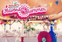Zevia Flavors of Summer / Everything that sums up your ideal summer party: outside, colorful, fun, free, happy!
