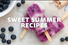 Sweet Summer Recipes / Summer tastes a little sweeter with Viva® Towels on cleanup duty.