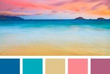 Color Palette Inspiration / Colour palette inspirations and anything else that sparks my creativity!