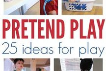 Pretend-Play Ideas / Stir up imagination in your classroom with these pretend-play ideas!