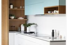 Kitchens / Beautiful kitchens! Great tiles, great styles.