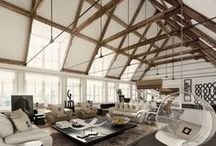 Luxury Design / Grandiose living areas.