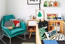 Kid's room / Stylish yet cool places where any kid would want to stay forever! I would!