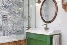 Bathrooms / Simple, clean and beautiful bathrooms.