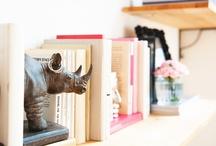An Eclectic Bookshelf