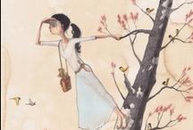 illustration / by Dwi Ratna Suminar