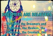 ">>♥<< DREAMCATCHERS & FEATHERS  >>♥<< / "" The future belongs to those who believe in the beauty of their dreams """