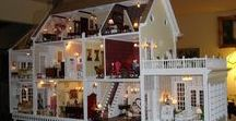 My Dollhouse / My favorite activity as a child was to play with my Toni Doll, paper dolls, and lastly, but most importantly, My Dollhouse.  I will be posting pictures from My Dollhouse and Pinning new things to furnish a new one.