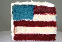 Red, White & Blue / All things patriotic. Bring on July 4 and Memorial Day! / by Laura Beck