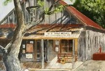 Chuck Tull Art Gallery / Original painting and drawings by Chuck Tull. Chuck works in Graphite/Charcoal and Acrylics.