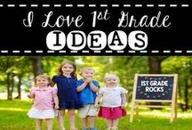 First Grade Ideas / Ideas for teaching / by Cecelia Magro I Love First Grade
