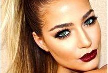 Makeup. / Inspirational, pretty makeup.