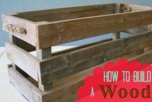 Wood Work / by Emily @ToadsTreasures.com