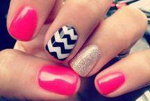 Uñas súper cool / uñas, esmaltes uñas, colores uñas, uñas temporadas