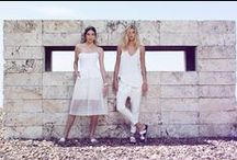 The White Effect / Old-school grace with new-world shapes, summer whites reflect light & look stunning from every angle.