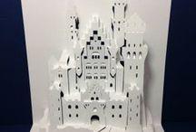 Kağıt katlama ve kesme sanatı / Origami Kirigami   / by Halis Ertunc