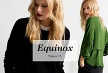ELK EQUINOX WINTER 15 / EQUINOX is a palette of deep, gem like colours from rich reds to greens and blues. Beautiful, tactile materials and easy to wear pieces form one of our strongest collections to date.  Ultimately an overriding desire to find perfect balance has inspired this range. We believe this latest collection is our Equinox.  We hope you enjoy wearing Equinox as much as we do.   The Elk Team x