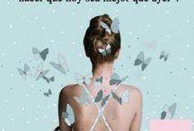 Frases del día de Siempre Mujer / Te presentamos unas frases inspiradoras para alegrarte el día.