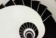 UPSTAIRS / DOWNSTAIRS / ~ the beauty and designs of stairs ~  / by green eyes