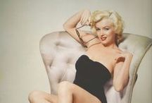 Back In The Day... / Old Hollywood femme fatales, pin up girls, singers and other creative types.