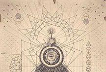 sacred geometry & symbols & tattoo