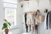 Closets / Inspirações para closets.