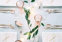 ❥ holiday dinner styling / styling ideas for special dinners | holiday & christmas dining in style
