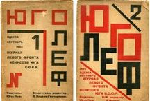 Czech - Russian Typography / Early - Mid Century Eastern European & Russian Tyopgraphy