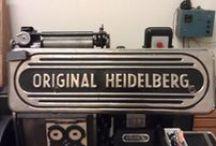 Printing Press and Dies, Heidelberg / Printing Press & Dies