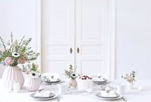 ❥ dinner tables / dinner table styling